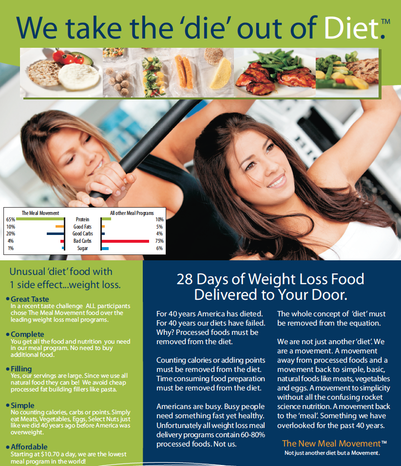 meal movement for weight loss and diet plan